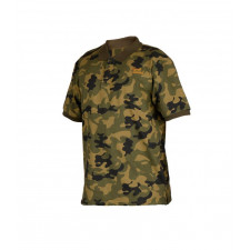 Pro Logic Polo - Bank Bound Camo Polo Fiskeri